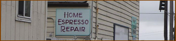 Home Espresso Repair